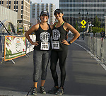 Kathie and Rosa Arias during the 2nd Annual Reno Mile in downtown Reno on Saturday, Sept. 7, 2019.