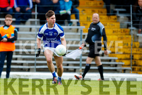 South Kerry in action against Gearoid Savage Kerins O'Rahillys in the Kerry Senior Football Championship Semi Final at Fitzgerald Stadium on Saturday.
