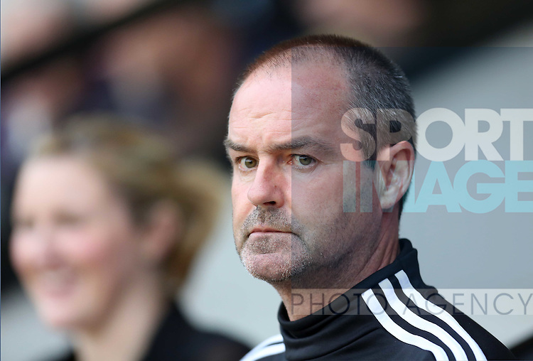West Bromwich Albion manager Steve Clarke, pre-season friendly, Walsall v West Bromwich Albion, Bescot Stadium Walsall, 7th August 2012.Picture Sportimage/Malcolm Couzens.------------------.Sportimage +44 7980659747.picturedesk@sportimage.co.uk.http://www.sportimage.co.uk/.Editorial use only. Maximum 45 images during a match. No video emulation or promotion as 'live'. No use in games, competitions, merchandise, betting or single club/player services. No use with unofficial audio, video, data, fixtures or club/league logos.