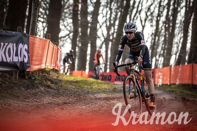 later race winner Lucinda Brand (NED/Telenet Baloise Lions)<br /> <br /> Elite Womens Race <br /> UCI Cyclocross Worldcup – Hoogerheide (Netherlands)<br /> ©kramon