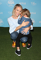 LOS ANGELES, CA - AUGUST 10: Julie Solomon, Camden Quinn Schaech, at the Netflix Series Premiere Of True And The Rainbow Kingdom at the Pacific Theatres at The Grove in Los Angeles, California on August 10, 2017. Credit: Faye Sadou/MediaPunch