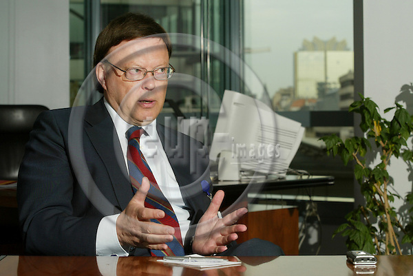 BRUSSELS - BELGIUM - 27 APRIL 2005 --Timo SUMMA, Director, DG Enlargement for the acceding countries .Bulgaria, Romania.-- PHOTO: ERIK LUNTANG / EUP-IMAGES..