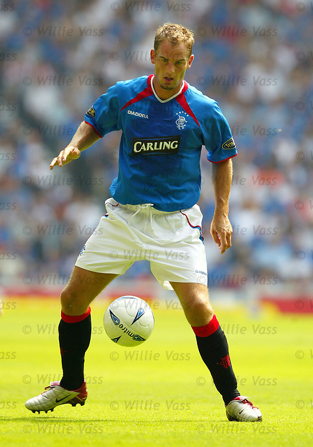 Ronald de Boer, Rangers.stock season 2003-04..pic willie vass