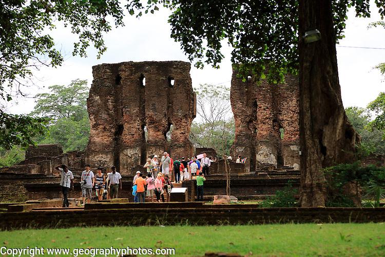 Royal Palace, Citadel, UNESCO World Heritage Site, the ancient city of Polonnaruwa, Sri Lanka, Asia