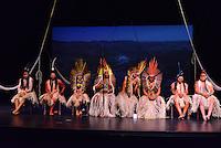 MIAMI, FL - SEPTEMBER 29: Wannu, Yawavana, KenewecÌ, Matsini, Pek˙ti, Meu, Matsa Hushahu and Hukena performs during the Journey to Mutum: A Cultural Encounter with the Yawanaw· Tribe of the Brazilian Amazon at Miami Theater Center on September 29, 2016 in Miami, Florida. Credit: MPI10 / MediaPunch