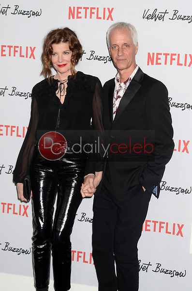 "Rene Russo, Dan Gilroy<br /> at the ""Velvet Buzzsaw"" Los Angeles Premiere Screening, Egyptian Theater, Hollywood, CA 01-28-19<br /> David Edwards/DailyCeleb.com 818-249-4998"