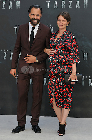 Casper Crump &amp; guest at the &quot;The Legend of Tarzan&quot; European film premiere, Odeon Leicester Square, Leicester Square, London, England, UK, on Tuesday 05 July 2016.<br /> CAP/CAN<br /> &copy;Can Nguyen/Capital Pictures /MediaPunch ***NORTH AND SOUTH AMERICAS ONLY***