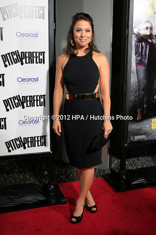 "LOS ANGELES - SEP 24:  Kay Cannon arrives at the ""Pitch Perfect'"" Premiere at ArcLight Cinemas on September 24, 2012 in Los Angeles, CA"