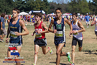 At 2-miles all six of the Dyestat.com's top 100 boys in the field were still in contention. Patrick Perrier and Noah Kappila led the charge with Patrick Gregory and Spencer Haik close behind, while Cole Rockhold and Stephen Mugeche another step back.