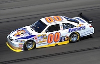 Feb 29, 2008; Las Vegas, NV, USA; NASCAR Sprint Cup Series driver David Reutimann during practice for the UAW Dodge 400 at Las Vegas Motor Speedway. Mandatory Credit: Mark J. Rebilas-US PRESSWIRE