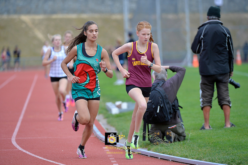 Action from the CSW - Athletics Region Championships at Newtown Park, Wellington, New Zealand on Thursday 13 March 2014. <br /> Photo by Masanori Udagawa. <br /> www.photowellington.photoshelter.com.