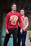 "Ward Horton and Jack DiFalco during the Broadway Opening Night Curtain Call for ""Torch Song"" at the Hayes Theater on November 1, 2018 in New York City."