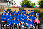 Children from Listowel Childcare who graduated on Friday morning.