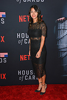 LOS ANGELES, CA. October 22, 2018: Nini Le Huynh  at the season 6 premiere for &quot;House of Cards&quot; at the Directors Guild Theatre.<br /> Picture: Paul Smith/Featureflash