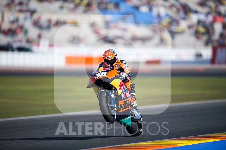 VALENCIA, SPAIN - NOVEMBER 11: Mika Kallio during Valencia MotoGP 2016 at Ricardo Tormo Circuit on November 11, 2016 in Valencia, Spain