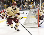 Patrick Wey (BC - 6) - The Boston College Eagles defeated the Northeastern University Huskies 7-1 in the opening round of the 2012 Beanpot on Monday, February 6, 2012, at TD Garden in Boston, Massachusetts.
