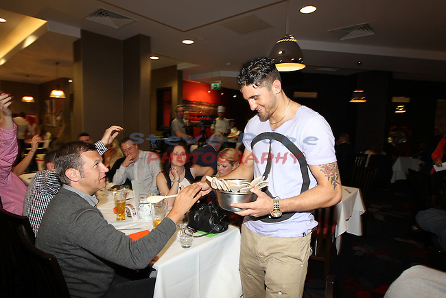Ty Hafan Celebrity Chef.Nathan Cleverly.Maldron Hotel.26.09.12.©Steve Pope
