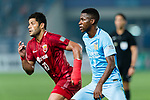 Jiangsu FC Midfielder Ramires Santos (R) and Shanghai FC Forward Givanildo Vieira De Sousa (Hulk) (L) during the AFC Champions League 2017 Round of 16 match between Jiangsu FC (CHN) vs Shanghai SIPG FC (CHN) at the Nanjing Olympic Stadium on 31 May 2017 in Nanjing, China. Photo by Marcio Rodrigo Machado / Power Sport Images