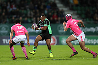 Steffon Armitage of Pau  during the Challenge Cup match between Section Paloise and Stade Francais on March 30, 2018 in Pau, France. (Photo by Manuel Blondeau/Icon Sport)