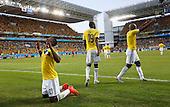 Colombia contra Japon en Cuiaba