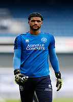 11th July 2020; The Kiyan Prince Foundation Stadium, London, England; English Championship Football, Queen Park Rangers versus Sheffield Wednesday; Goalkeeper Dillon Barnes of Queen Park Rangers looks on