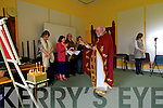 The Orthadox mass which took place in Collis Sands House on Sunday.
