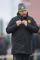 Jordan Wigham head coach for Romford during Epping Upper Clapton RFC vs Romford & Gidea Park RFC, London 2 North East Division Rugby Union at Upland Road on 6th January 2018