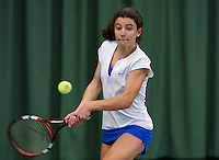 March 15, 2015, Netherlands, Rotterdam, TC Victoria, NOJK, Anna Brinkmann Adsarias (NED)<br /> Photo: Tennisimages/Henk Koster