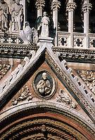 Dom Santa Maria Assunta, Detail, Siena, Toskana, Italien, Unesco-Weltkulturerbe