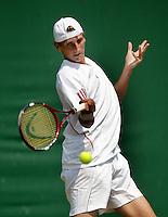 4-7-06,England, London, Wimbledon, juniors, Thiemo de Bakker