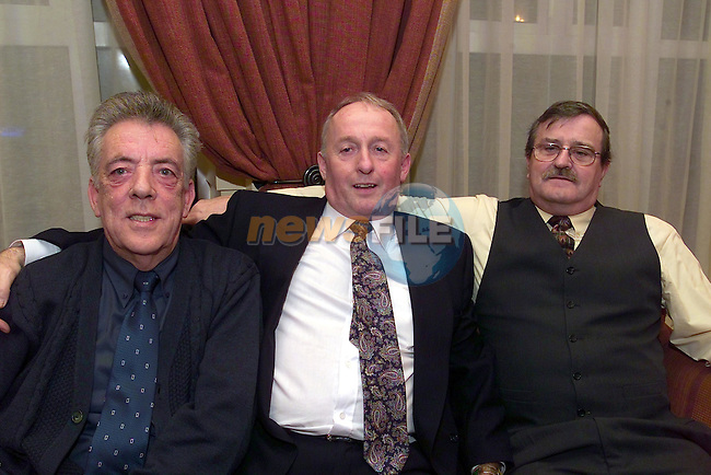 Oscar reynolds, Barry Gardner and Noel Neugent.Picture Fran Caffrey Newsfile...This Picture is sent to you by:..Newsfile Ltd.The View, Millmount Abbey, Drogheda, Co Louth, Ireland..Tel: +353419871240.Fax: +353419871260.GSM: +353862500958.ISDN: +353419871010.email: pictures@newsfile.ie.www.newsfile.ie
