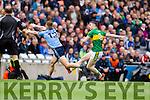 Marc Ó Sé Kerry in action against Ciaran Kilkenny Dublin in the National League Division One Final in Croke park, Dublin on Sunday.
