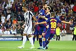 UEFA Champions League 2017/2018 - Matchday 1.<br /> FC Barcelona vs Juventus Football Club: 3-0.<br /> Lionel Messi &amp; Ivan Rakitic.