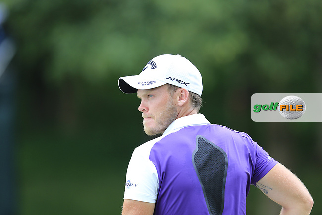 Danny Willett (ENG) on the 12th green during Friday's Round 2 of the 2017 PGA Championship held at Quail Hollow Golf Club, Charlotte, North Carolina, USA. 11th August 2017.<br /> Picture: Eoin Clarke | Golffile<br /> <br /> <br /> All photos usage must carry mandatory copyright credit (&copy; Golffile | Eoin Clarke)