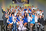 The Contestants  and the committee at the Irish Cancer society Strictly Come Dancing in the INEC on Friday night