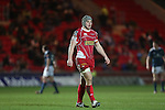 Scarlets center Jonathan Davies.<br /> Celtic League<br /> Scarlets v Munster<br /> <br /> 01.03.14<br /> <br /> &copy;Steve Pope-SPORTINGWALES