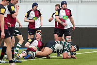 Hendon score their first try during Hendon RFC vs Cranbrook RFC, RFU Junior Vase Rugby Union at Allianz Park on 14th March 2020