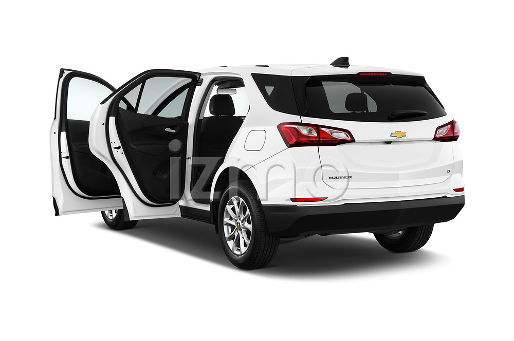 Car images close up view of a 2019 Chevrolet Equinox LT 5 Door SUV doors