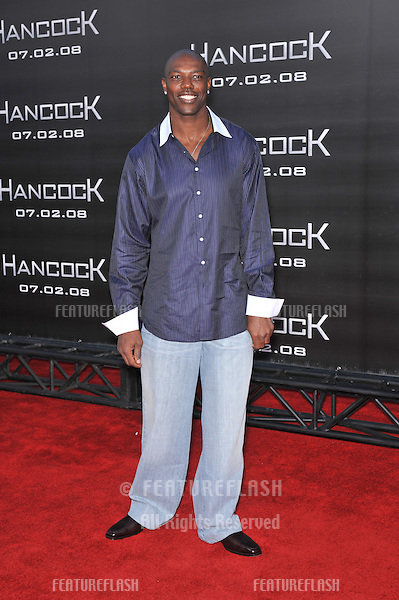 "Terrell Owens at the Los Angeles premiere of ""Hancock"" at Grauman's Chinese Theatre, Hollywood..June 30, 2008  Los Angeles, CA.Picture: Paul Smith / Featureflash"