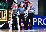 S&ouml;dert&auml;lje 2014-04-26 Basket SM-final S&ouml;dert&auml;lje Kings - Norrk&ouml;ping Dolphins :  <br /> Domarna Apostolos Kalpakas , Daniel Berler<br />  och Saulius Racys d&ouml;mde matchen<br /> (Foto: Kenta J&ouml;nsson) Nyckelord:  S&ouml;dert&auml;lje Kings SBBK Norrk&ouml;ping Dolphins SM-final Final T&auml;ljehallen domare referee ref