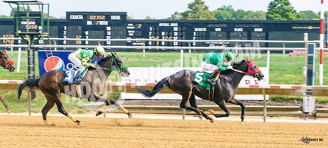 Sierra Sun winning at Delaware Park on 9/8/16