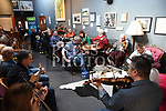 Musicians playing at the Slow Sessions in the Droichead Arts Centre. Photo:Colin Bell/pressphotos.ie
