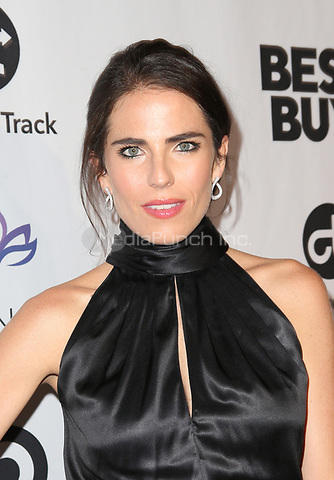 LOS ANGELES, CA - NOVEMBER 8: Karla Souza, at the Eva Longoria Foundation Dinner Gala honoring Zoe Saldana and Gina Rodriguez at The Four Seasons Beverly Hills in Los Angeles, California on November 8, 2018. Credit: Faye Sadou/MediaPunch