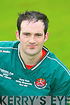 Pa Quille of the Crotta O'Neills hurling club.