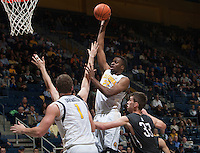 Berkeley, CA - December 3, 2014: California Golden Bears' 78-76 double overtime victory against Montana Grizzlies during NCAA Men's Basketball game at Haas Pavilion.
