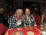 Siobhan Diamond and Niamh Ruane at the Barn Dance in St. Kevin's Community Centre Phillipstown.  Photo:Colin Bell/pressphotos.ie