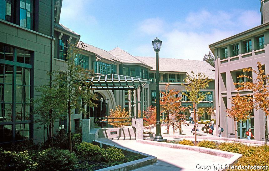 Charles Moore: School of Business, U.C. Berkeley.  Photo '98.