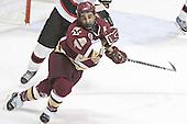 Stephen Gionta - The Boston College Eagles and Northeastern University Huskies tied at 1 on Saturday, October 22, 2005, at Matthews Arena in Boston, Massachusetts.