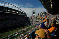 Sep 18, 2005; Seattle, WA, USA; Qwest Field during the Seattle Seahawks against Atlanta Falcons game. Mandatory Credit: Photo By Mark J. Rebilas