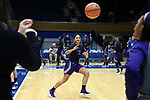 DURHAM, NC - NOVEMBER 16: High Point's Emma Bockrath. The Duke University Blue Devils hosted the High Point University Panthers on November 16, 2017 at Cameron Indoor Stadium in Durham, NC in a Division I women's college basketball game. Duke won the game 77-50.